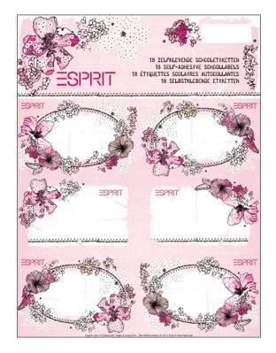 Esprit Buchettiketten