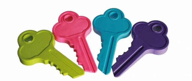 Türstopper Schlüssel