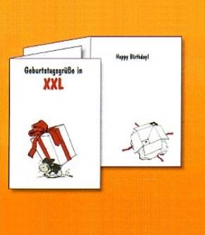 Nici Geburtstagskarte XXL
