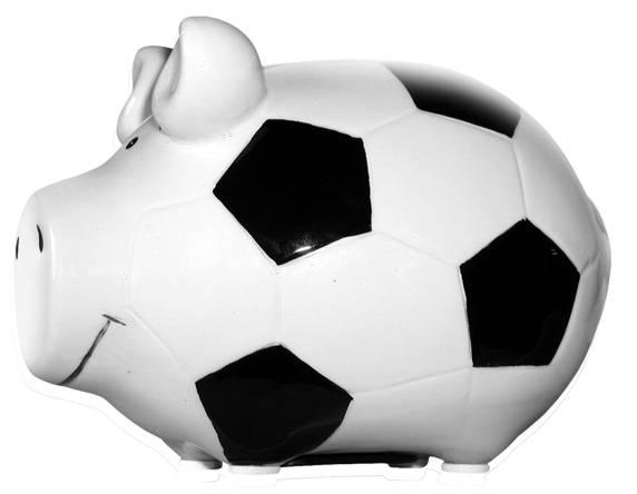 KCG Sparschwein Fußball