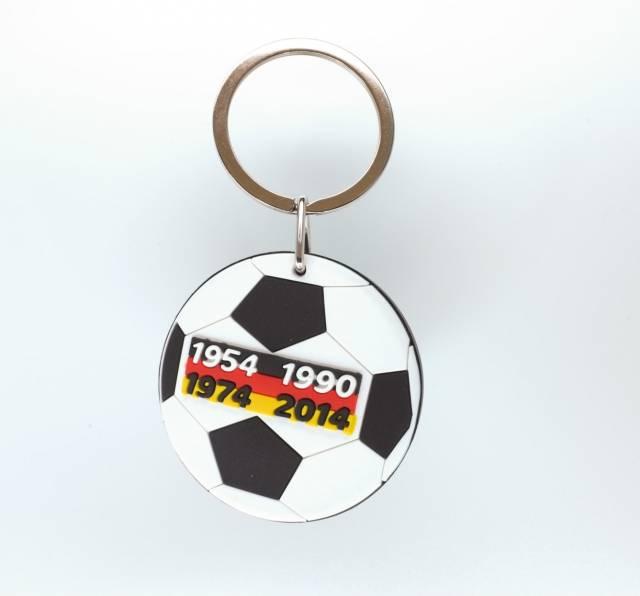 Yesbox Schlüsselanhänger Fußball Weltmeisterjahre
