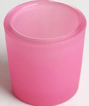 Votivkerzenglas Rosa Beeren