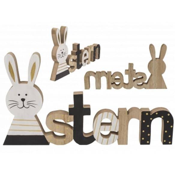 Ostern Schriftzug aus Holz