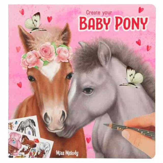 Miss Melody Create your Baby Pony Malbuch