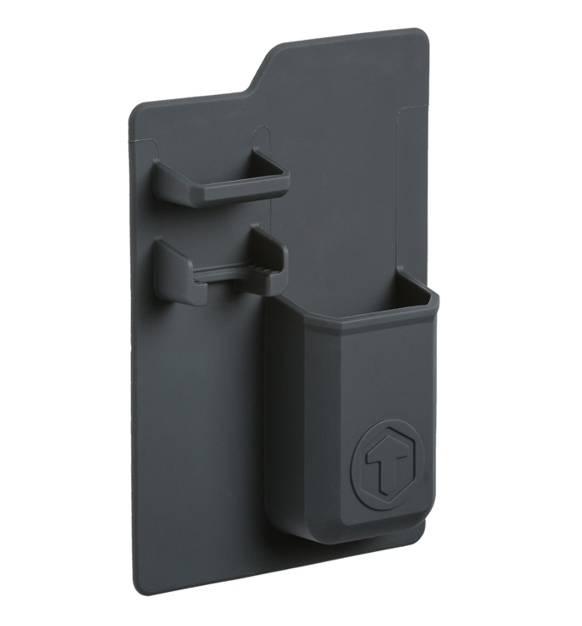 tooletries bad utensilienhalter mighty schwarz bad ablagesystem duschhalterung. Black Bedroom Furniture Sets. Home Design Ideas