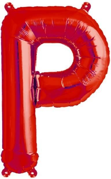 Folien Ballon Buchstabe P