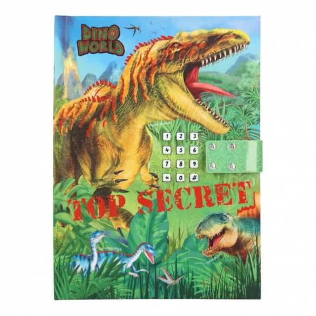 Dino World Tagebuch mit Geheimcode