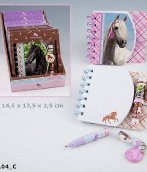 Pferde Ringbuch in Geschenkbox