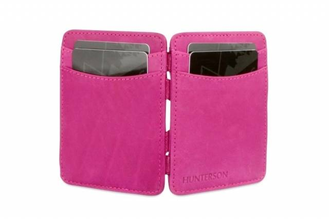 Hunterson Geldbörse Magic Wallet Raspberry