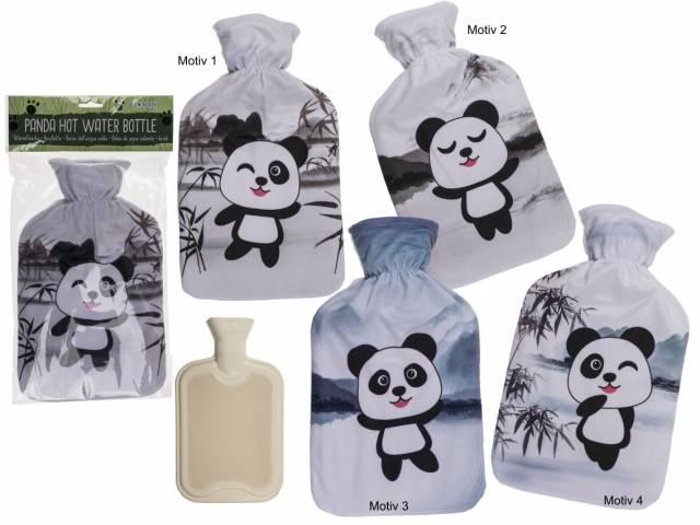 Wärmflasche Panda Bär
