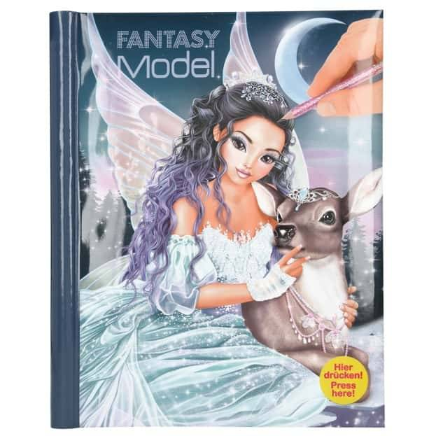 TopModel Fantasy Model Malbuch