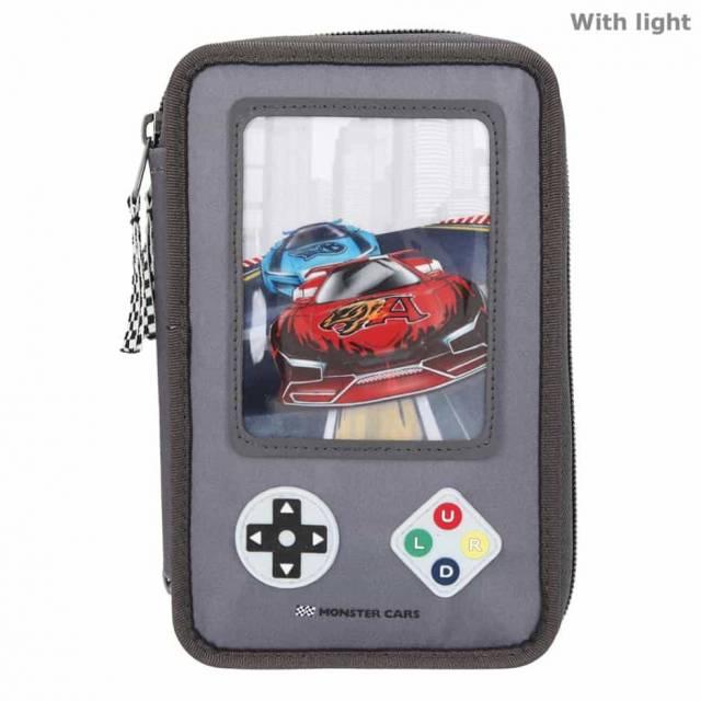 Monsteer Cars Federtasche Gamer