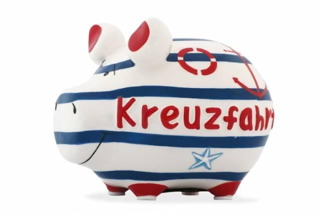 KCG Sparschwein Kreuzfahrt