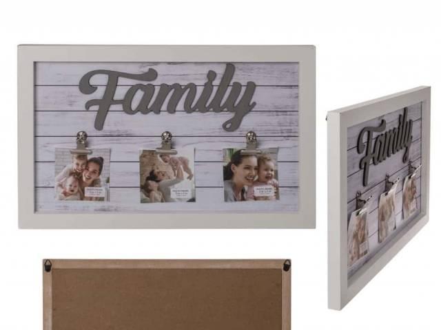 Holz Bilderrahmen Family