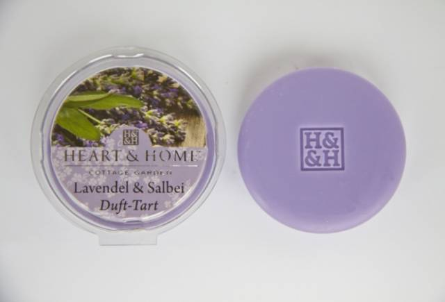 Heart and Home Duft Tart Lavendel und Salbei