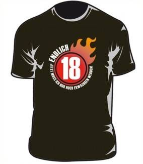 T-Shirt Endlich 18