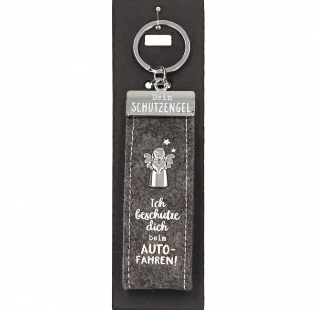 Schlüsselanhänger Schutzengel Autofahren