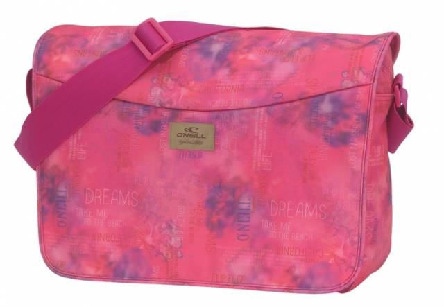 O'Neill Courier Bag in Pink
