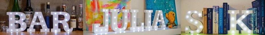 banner-lights-letter