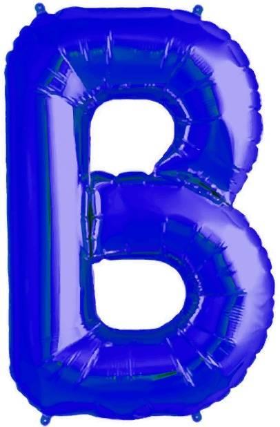 Folien Ballon Buchstabe B