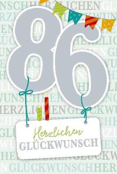 Geburtstagswünsche Karte Geburtstag.Depesche Geburtstagskarte 86 Geburtstag Mit Musik