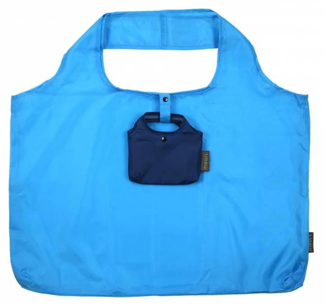 meori Einkaufstasche Aqua Blau