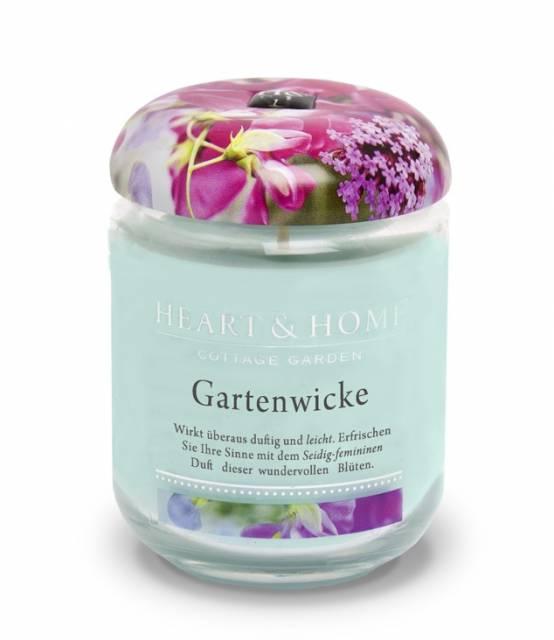 Heart and Home Duftkerze Gartenwicke