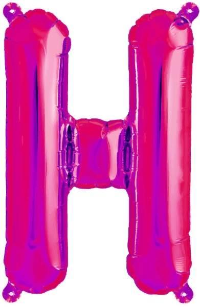 Folien Ballon Buchstabe H