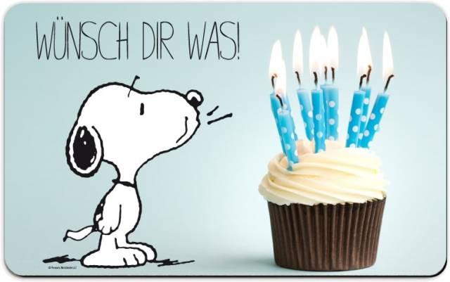 Snoopy Brettchen Wünsch Dir Was 4025055253573 Geschenkewunderland