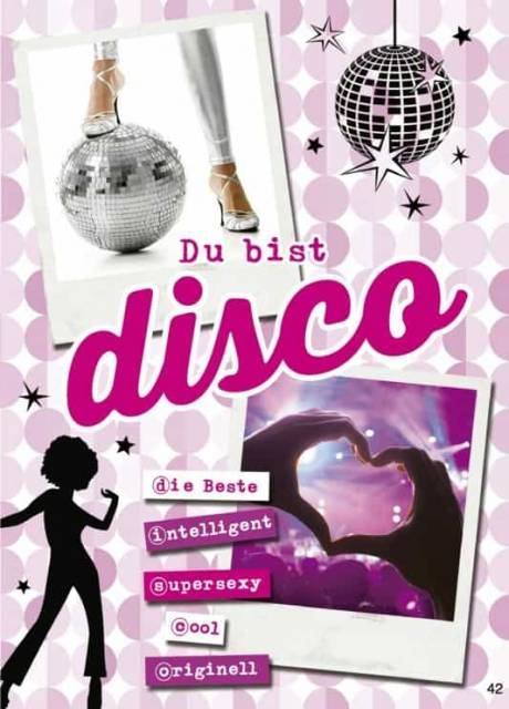 Glückwunschkarte Disco - Happy Birthday