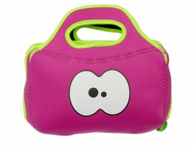FruitFriends Tasche Lunch Pink / Grün