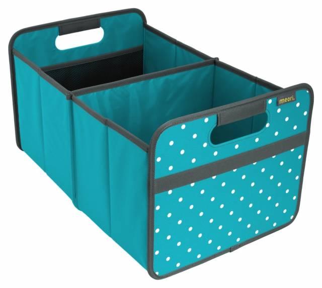 meori Faltbox Classic Large Azur Blau Punkte