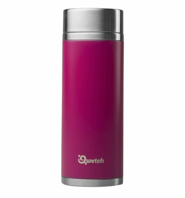 Qwetch Tea to Go Thermobecher Pink