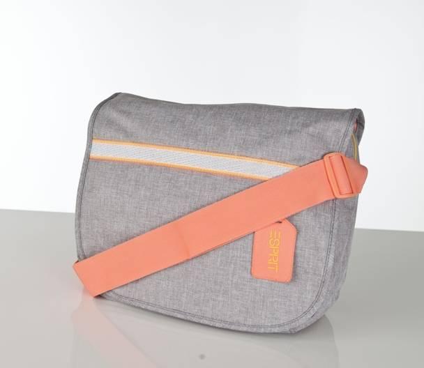 Esprit Courier Bag Fashion Anthracite