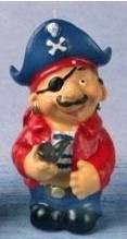 Piratenkerze Kapitän