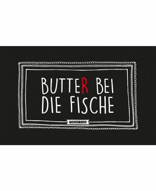 Tacheles Frühstücksbrettchen Butter