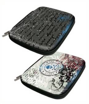 Zip and Friends Tablet Tasche Toxic