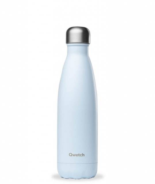 Qwetch Thermoflasche Pastell Hellblau