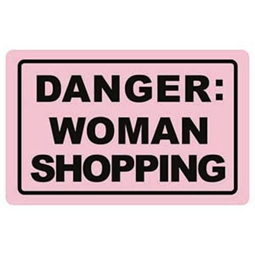 Moneyguard Danger Woman Shopping