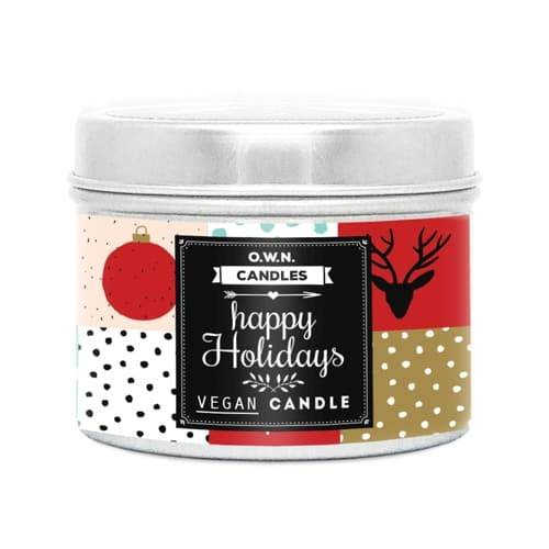 OWN Candles Reisekerze Happy Holiday