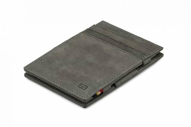 Garzini Magic Wallet Essenziale Metal Grey