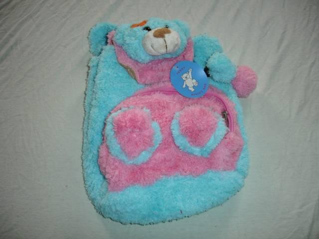 Kinderrucksack Teddy Blau
