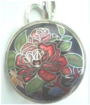 Schlüsselhaken Rose