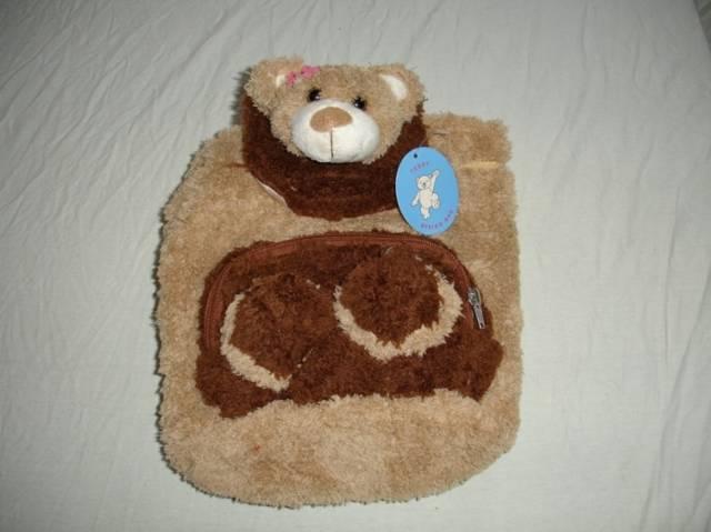 Kinderrucksack Teddy Hellbraun