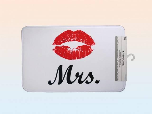 Badematte Mrs. / Badevorlager Mrs.