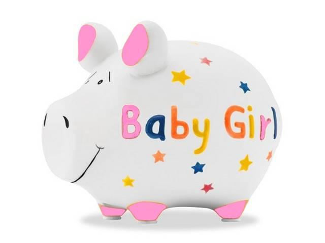 KCG Sparschwein Baby Girl