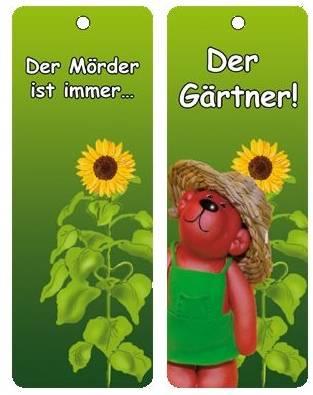 Tatzino Lesezeichen Der Gärtner