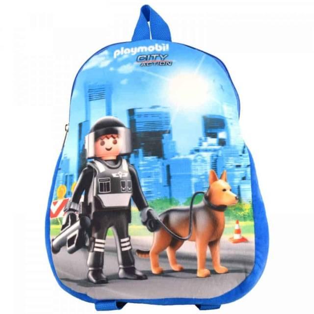Rucksack Playmobil Polizei