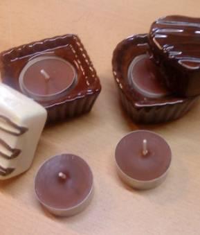 Teelichthalter Praline