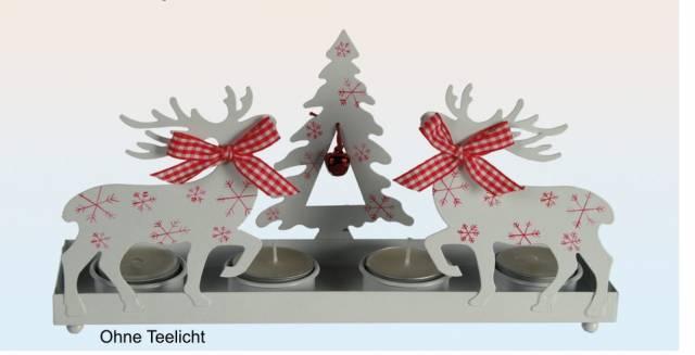 Teelichthalter Weihnachten